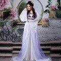 Chino antiguo Traje Hanfu Cosplay Trajes de Danza Tradicional China 4 de Color Las Mujeres Etapa y Desgaste de La Danza