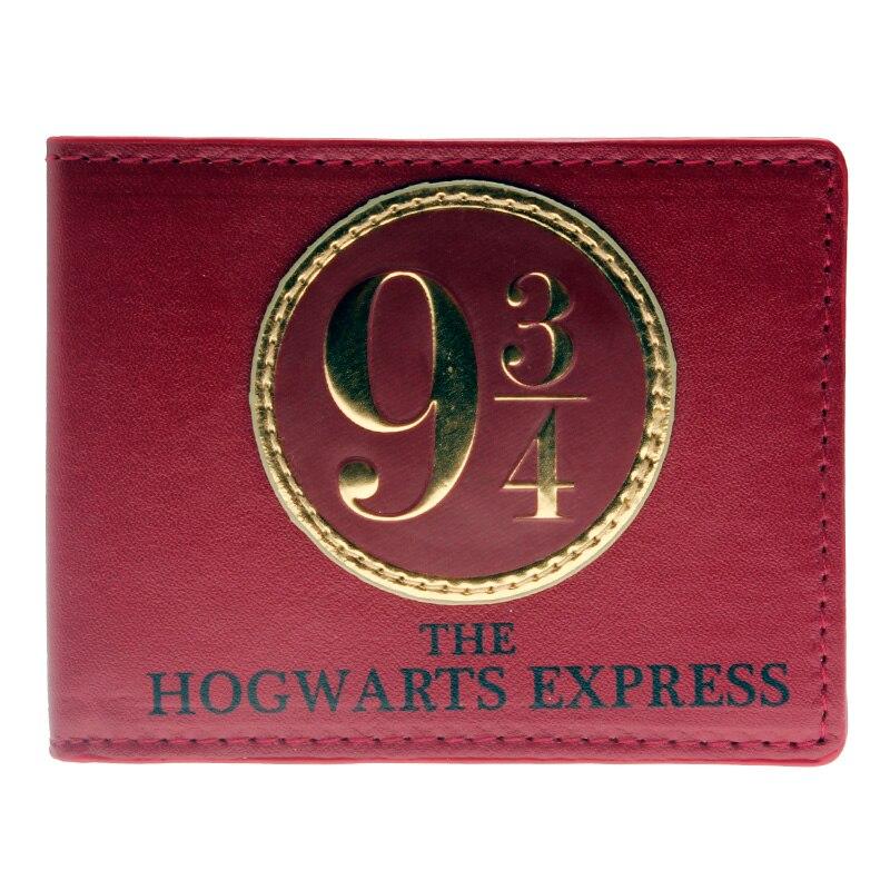 Harry Potter 9 3/4 Bi-Fold Wallet 5 x 4in DFT-1311 harry potter ollivanders dumbledore the elder wand in box prop replica