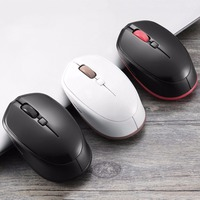 MOTOSPEED BG20 Compact Bluetooth 3 0 Wireless Optical Mouse Red Light 2400DPI For Mac For Windows