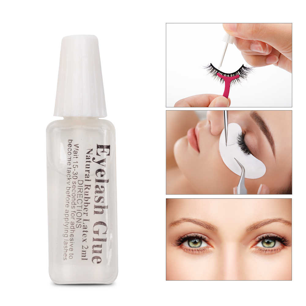 cb02c382234 1PC Professional Eyelash Glue False Eyelash Extension 2ml Quick Dry  Long-lasting Transparent Eye Lashes