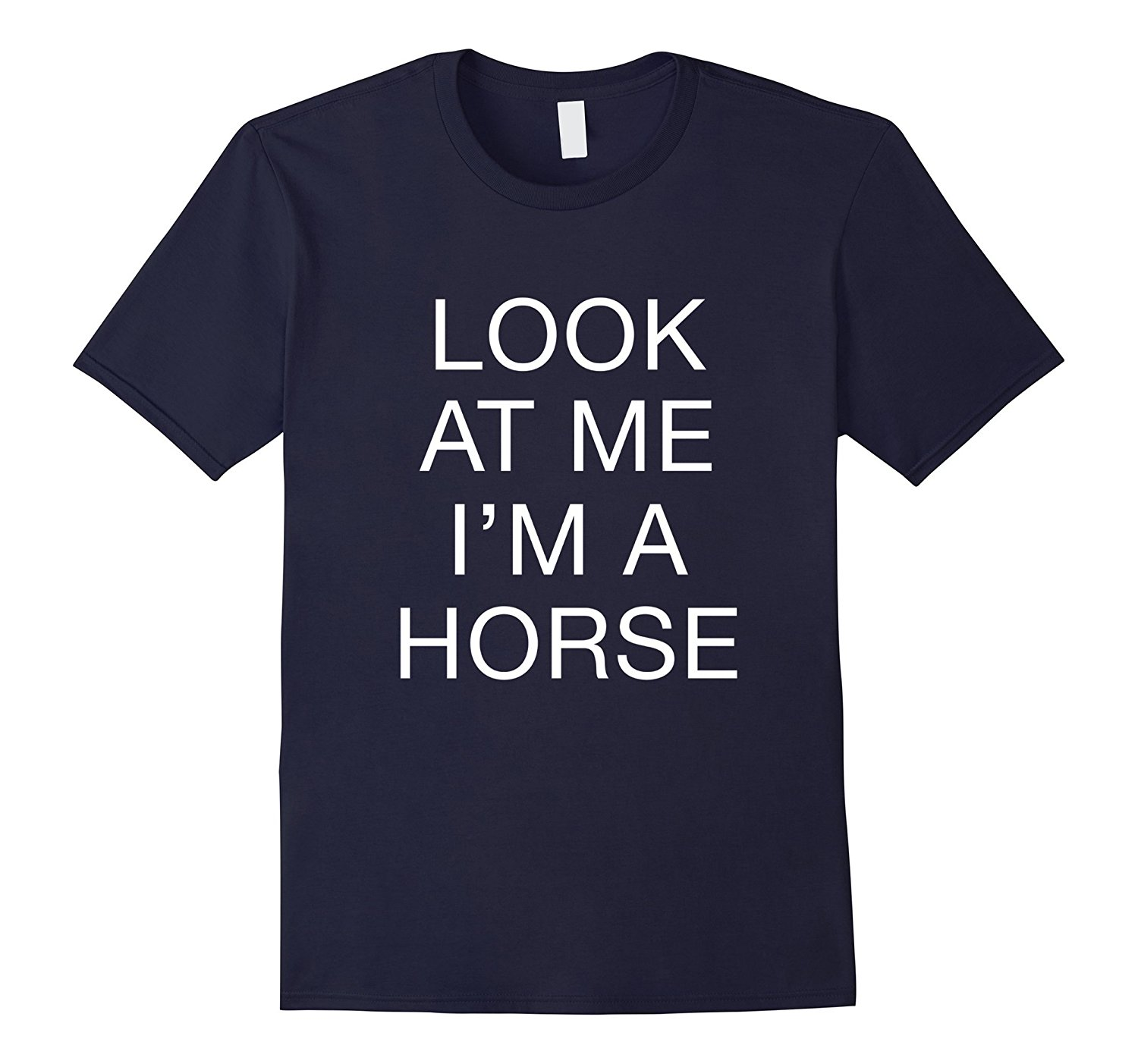 Im A Horse Funny Halloween Costume T-Shirt MenS T-Shirts Summer Style Fashion Swag Men T Shirtss Brand Clothes Summer 2018