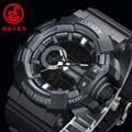 Impermeable Reloj Deportivo Relogio Masculino masculino Reloj Led Digital Relojes de Caballero de Marca Militar Ocasional Xfcs Cronómetro reloj de Buceo Reloj de Pulsera