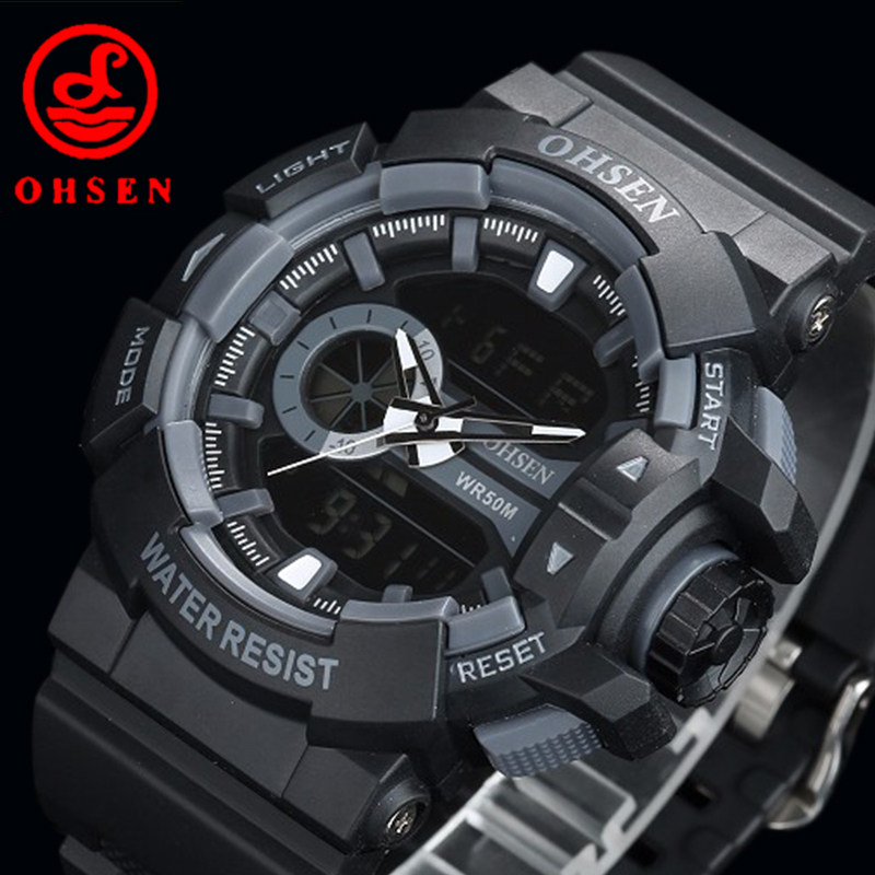 Waterproof Sport Watch Relogio Masculino Male Clock Led Digital Watches Men Brand Casual Military Stopwatch Dive