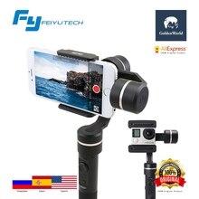 Original FeiyuTech SPG 3-Axis Gimbal Handheld Smartphone Stabilizer for iPhone/Xiaomi/Samsung S7 Zoom Button Selfie Stick