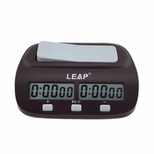 Professional Compact Digital Chess Clock Count Up Down Timer Electronic Board Game Bonus Competition Master Tournament free
