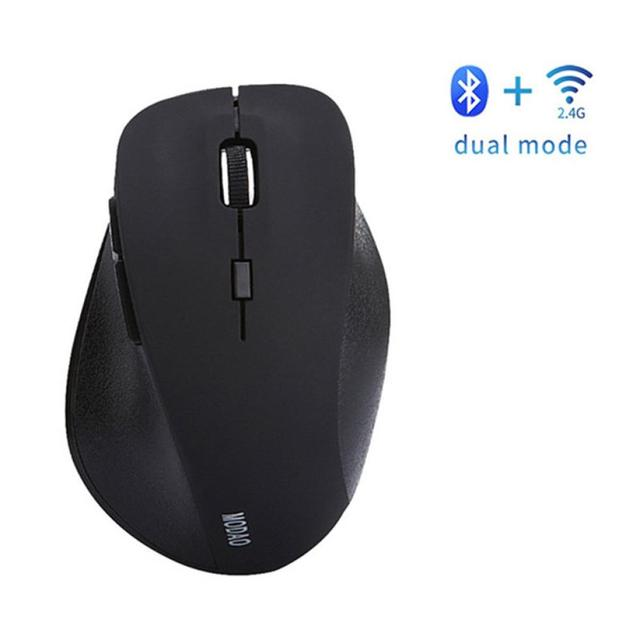 eb4a624d63b MODAO Rechargeable Bluetooth4.0 And 2.4G Dual Mode Wireless Gaming Mouse  Mice USB Receiver