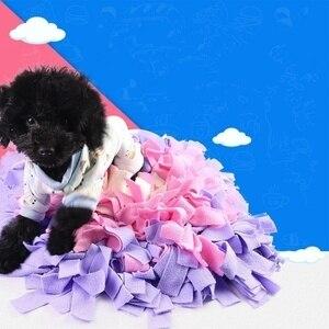 Image 4 - Pet köpek koklama Mat bulmak gıda eğitim interaktif oyun oyuncaklar köpek besleme matı stres rahatlatmak için