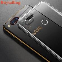 Для zte nubia z17 мини телефон случаях мягкий прозрачный тпу кремния 360 полная защита ультра тонкий nubia z17 mini case cover coque