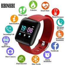 Новинка 2019, мужские или женские Смарт часы с измерением кровяного давления, водонепроницаемые спортивные часы с пульсометром, цифровые наручные часы, Детские Смарт часы