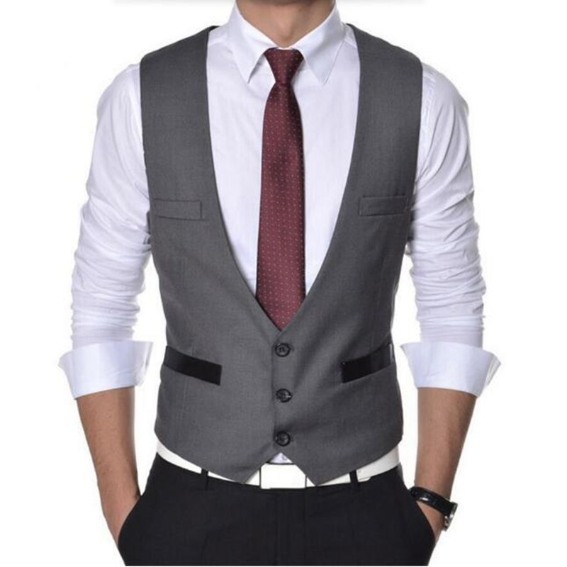Buy High Quality Men Vest Suit Single