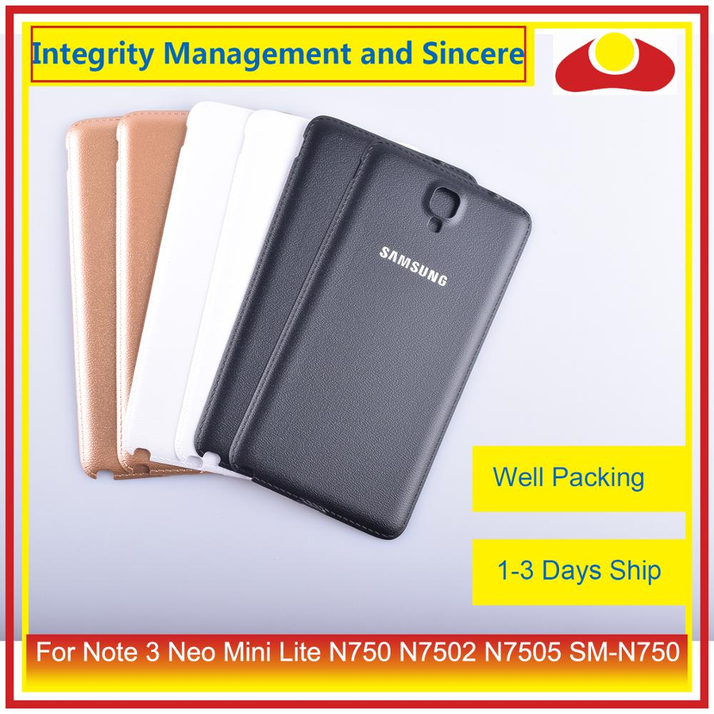 Image 5 - Original For Samsung Galaxy Note 3 Neo Mini Lite N750 N7502 N7505 Housing Battery Door Rear Back Cover Case Chassis Shell-in Mobile Phone Housings & Frames from Cellphones & Telecommunications