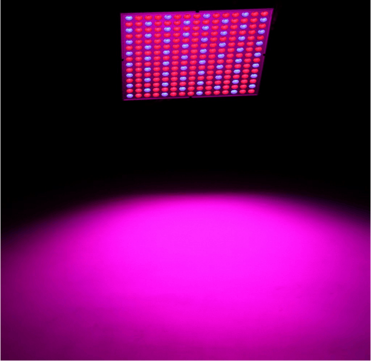 New arrival 14W/ 45W square panel grow led light AC85~265V 225pcs 2835 leds red blue indoor plant hanging lamp