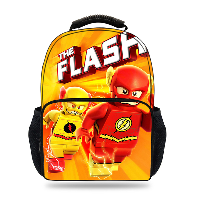 b5827dc031 15inch Movie DC Super Heroes Justice League Backpack Kids School bags for  boys Backpack teenage girls travel Laptop Mochila
