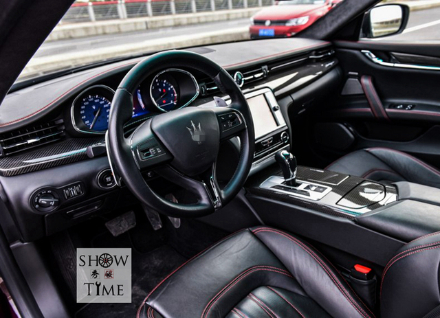 Fit for Maserati Ghibli carbon fiber Interior patch -in Racing ...