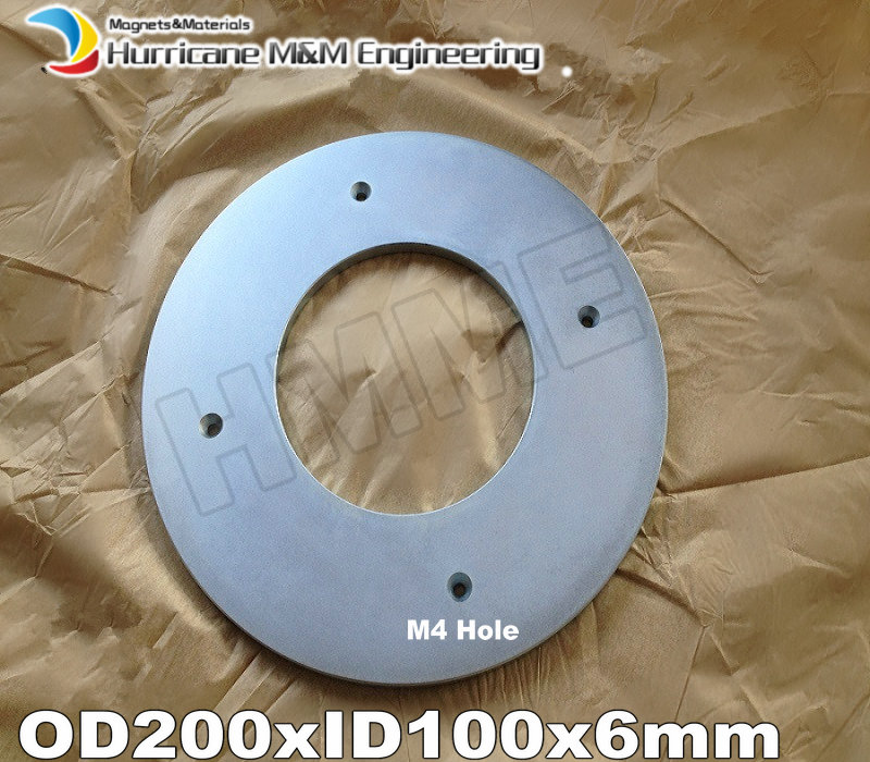 N52 Super Large Ring Magnet OD 200xID 100x6 mm about 8 M4 holes NdFeB round Strong Neodymium Rare Earth Permanent Magnet v n chavda m n popat and p j rathod farmers' perception about usefulness of agriculture extension system