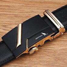 Hot Genuine Leather Luxury Belt For Men
