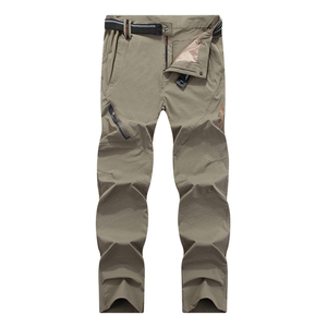 Image 3 - Mountainskin 8XL Mens Summer Quick Dry Softshell Pants Outdoor Elastic Camping Hiking Trekking Fishing Climbing Trousers MA138