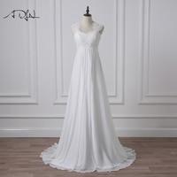 2016 Fashion A Line Floor Length Blush Wedding Dress Sweetheart Simple Tulle Skirt Peach Colored Wedding