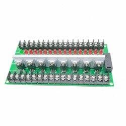 16 way tranzystor PLC amplifikacji pokładzie płyta wyjściowa płyta zasilająca tranzystor PLC płyta ochronna