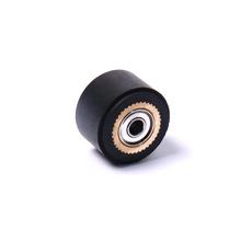 1 sztuk rolka dociskowa taśma bębnowa do Roland cięcia winylu ploter tnący 4x11x16mm łożysko kulkowe tanie tanio CHEERBRIGHT NONE Okrągły pas CN (pochodzenie) 12110208001 11mm
