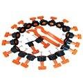 50 cuñas de nivel unids/set espaciadores de baldosa para suelos de pared, sistema de nivelación, sistema de nivelador, Espaciadores, alicates, herramientas de mano