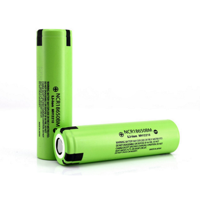 2pcs/lot high drain high capacity <font><b>japan</b></font> <font><b>18650</b></font> <font><b>battery</b></font> cell NCR18650BM 3200mah 10A continuous discharge rate for electric drill