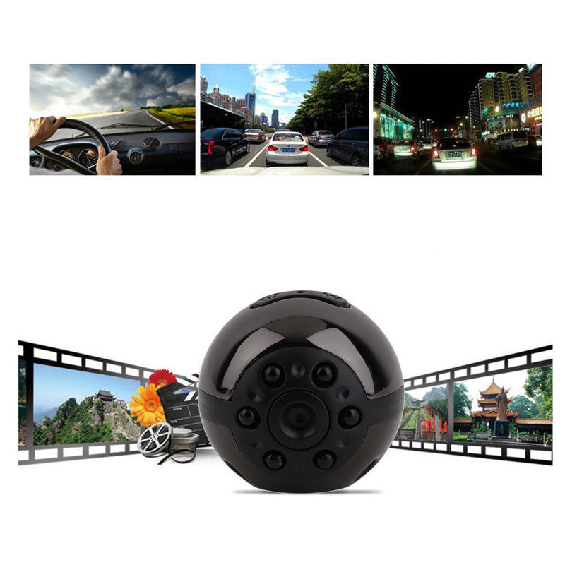 Asmile HD 1080P 720P Mini DV Mini camera SQ9 360 Degree Rotation Voice Video Recorder Infrared Night Vision Digital Camera lc 08 mini dv headphone 1080p hd sport dv bluetooth headset stereo neck strap video recorder
