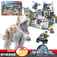 TS8000 Heftigen Brutal Dinosaurier Indominus Rex Breako Jurassic Dinosaurier Welt Gebäude Block Spielzeug Geschenk Für Kinder 75930