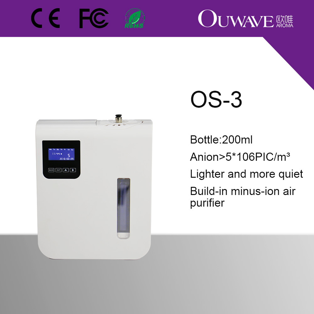 Ouwave neue design klimaanlage duft diffusor maschine OS 3 mit ...
