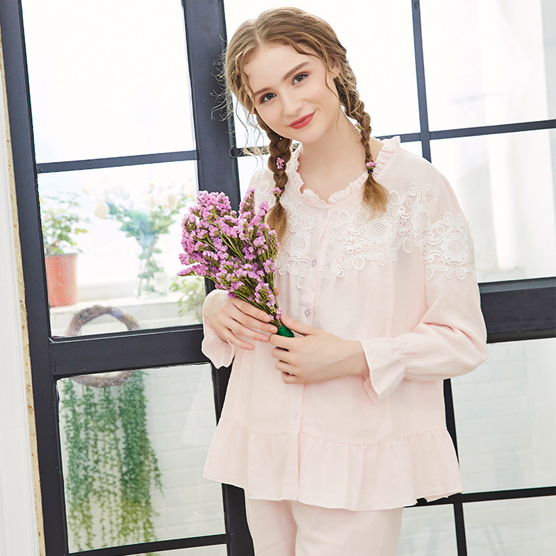 Maternity Breastfeeding Pajama Summer Cotton Maternity Sleepwear Pregnancy Pyjama Nursing Nightwear Women Sleepwear Pants A012