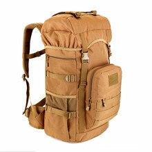 2017 neue Militärische Taktische Rucksack 50L große Kapazität Camping Taschen bergsteigenbeutel männer Wandern Rucksack Reiserucksack