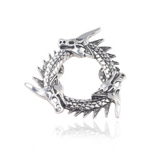 цена на Game Of Thrones Unsullied Dragons Logo Pins Brooches A Song of Ice and Fire Targaryen Dragon Badge Brooch for Women Men Jewelry