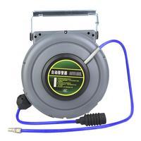 Pneumatic Hose Reel PU Air Hose Reel Automatic Retractable Hose Reel Base 12m 1/4'' BSPT Hose Reel