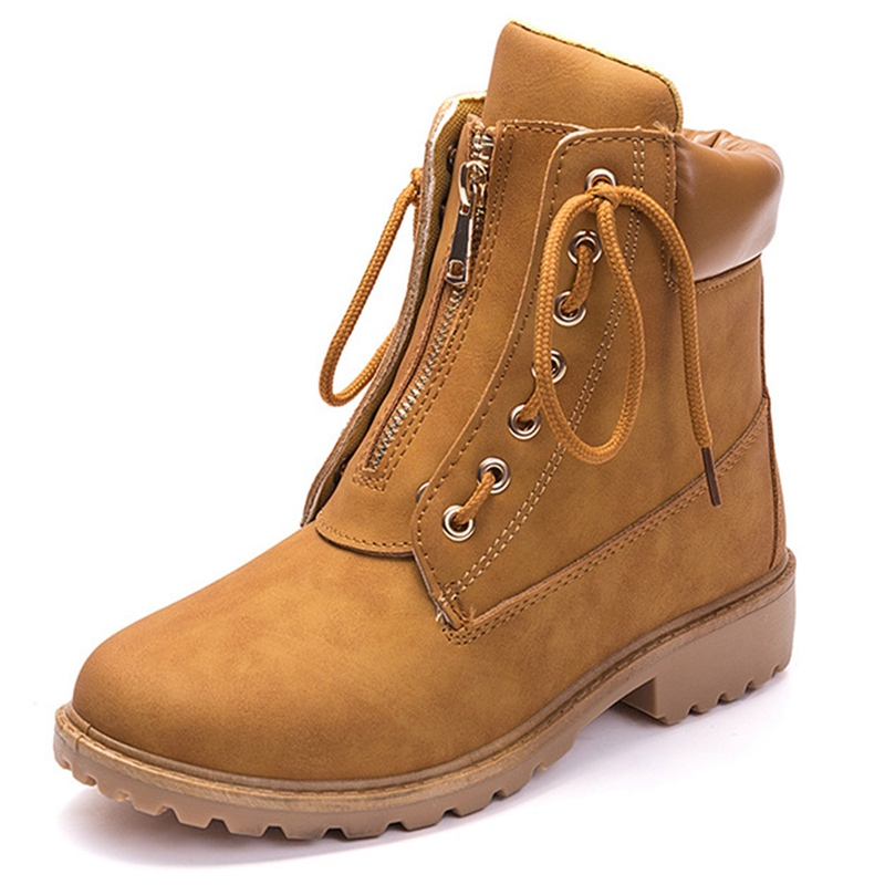 897b0c3cab6108 Ankle Boots Cheap Ankle Boots Fashion Leather Women Boots Winter Shoes.We  offer the best wholesale price