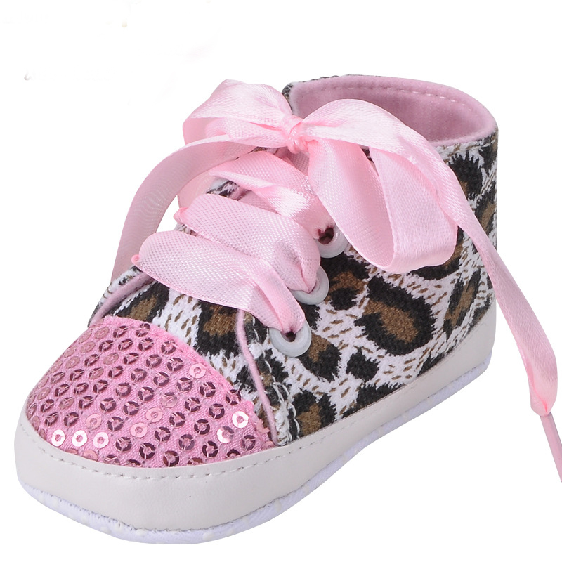 buy popular b8da8 f1470 1Pair NK Leopard Canvas Baby Jordan Shoes yeezy boost 350 Infant Newborn  Toddler Baby Girls First Walkers Bebe Baby Moccasins-in First Walkers from  Mother ...