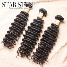 Malaysian Virgin Hair sexy formula hair top sale 3pcs/lot deep wave Free Shipping hair bundles Unprocessed Human Hair extensions