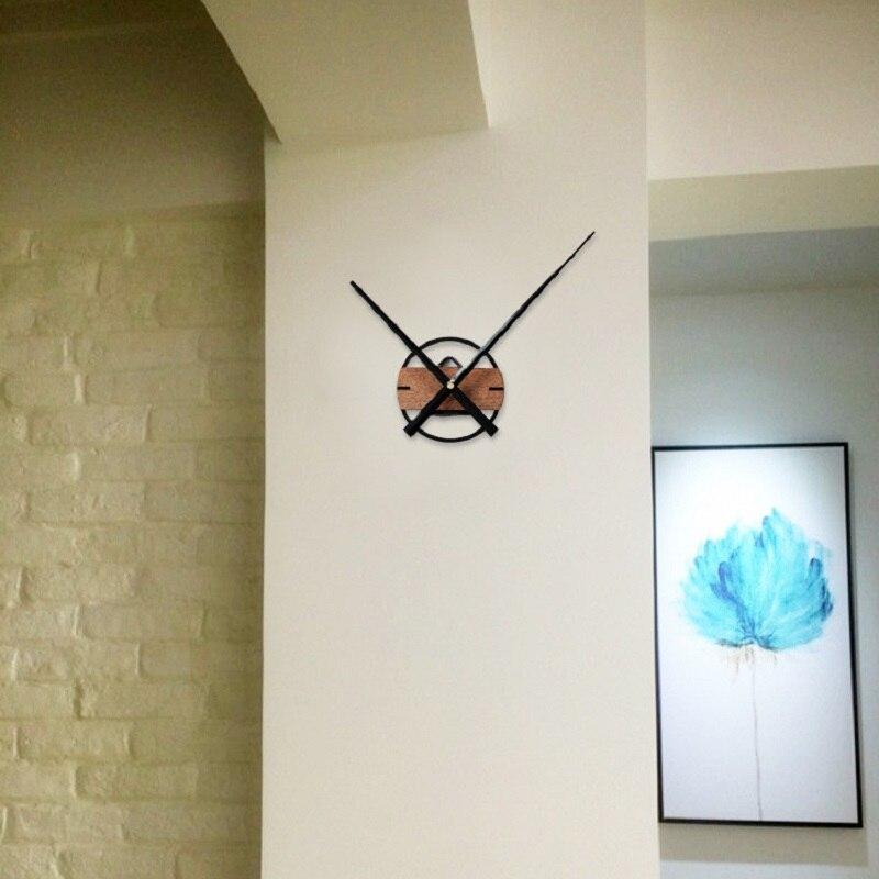 Diy clock mechanism wall clock kit horloge murale duvar for Decoration murale wish
