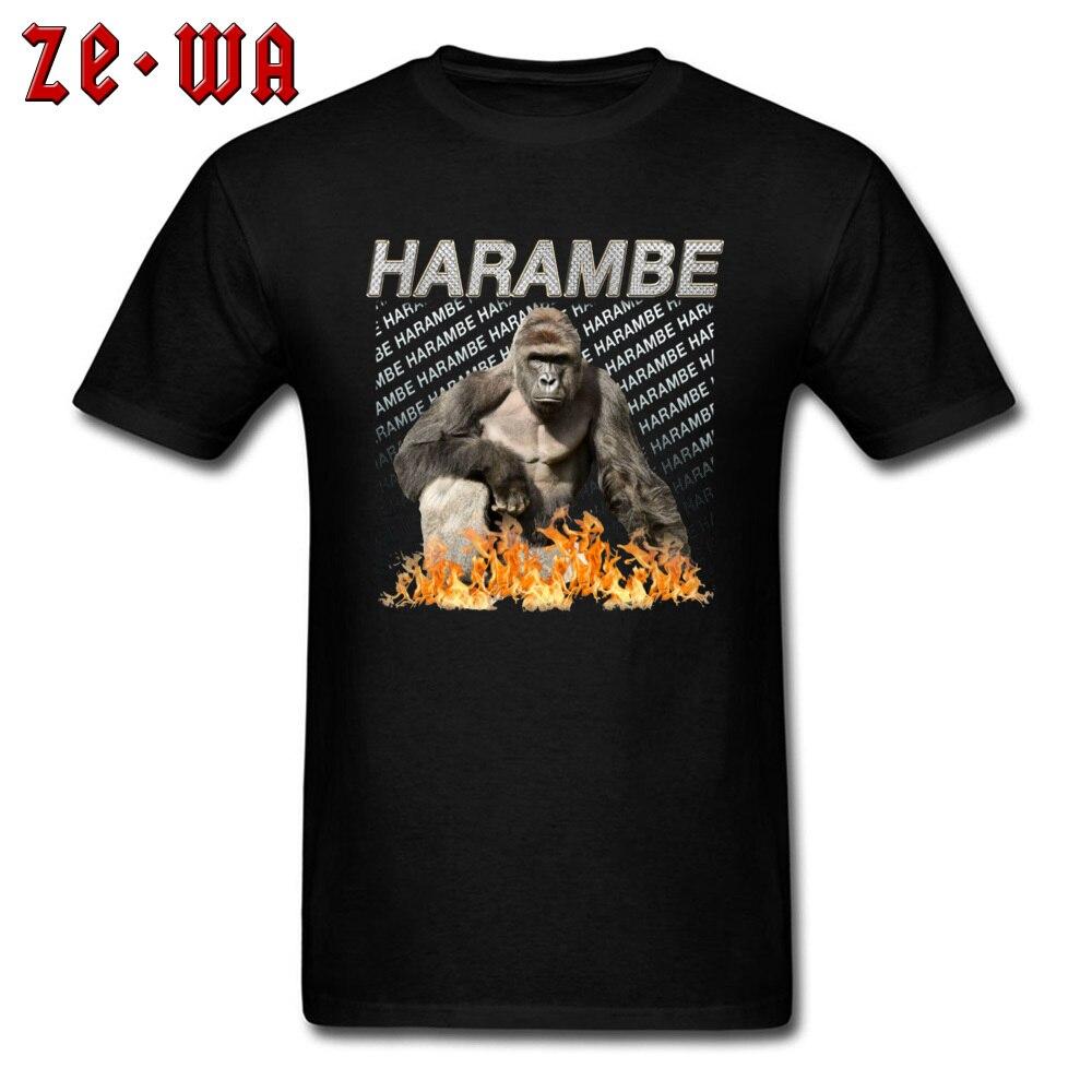 Harambe Mount Rushmore T-shirt Harambe The Gorilla Support Harambe Tee Shirt