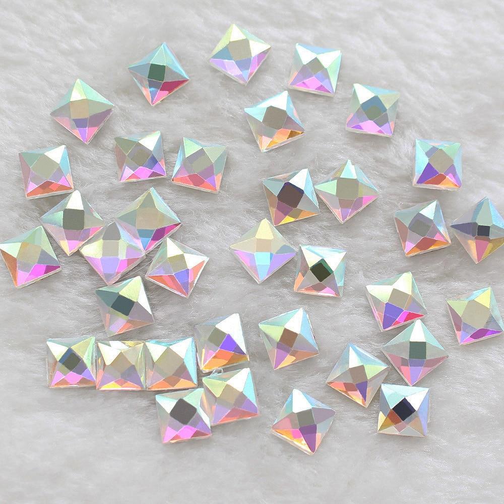US  4.80 2014 New Square Hot-fix Shaped 6 6mm 130pcs lot Cr... US  3.50  Hotfix Rhinestone Craft Crystals ... 98948d291b25