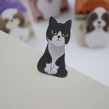 5 PCS Cute Dog Cat Notepad