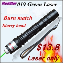 Buy online [ReadStar]RedStar 019 Green high 1W Burn match laser pointer laser pen Laser only starry image without battery and charger 305#