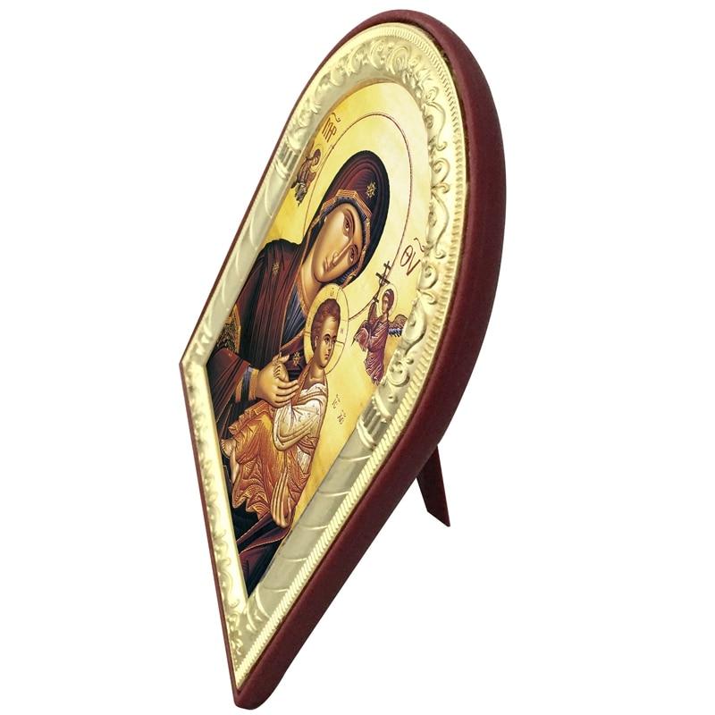 Ikona ortodokse greke e personalizueshme Virgin Mary Dhe imazhet e - Dekor në shtëpi - Foto 3