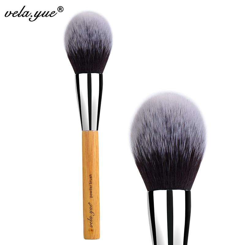 vela.yue Large Powder Brush Synthetic Face Cheek Blush Makeup Tool 2016 new pro makeup powder blush face cheek foundation flat contour brush cosmetic tool