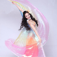 New Arrival Belly Dance Isis Wings For Women Nice Egypt Style Gradient Color Dancing Wings For