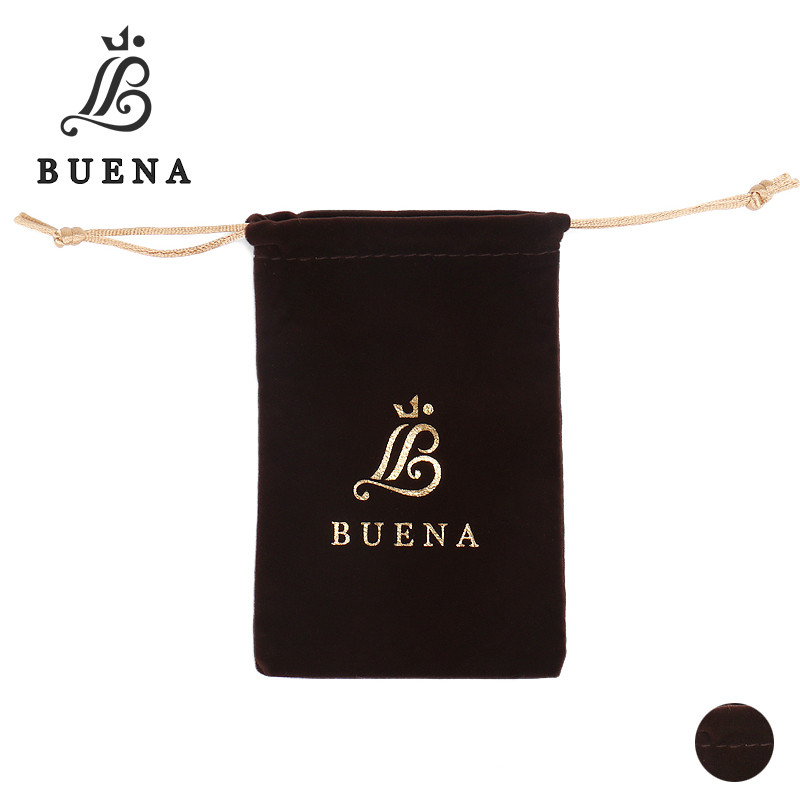 Buena Velvet Pouches Jewelry Packaging Display Drawstring Packing Gift Bags & Pouches PB001