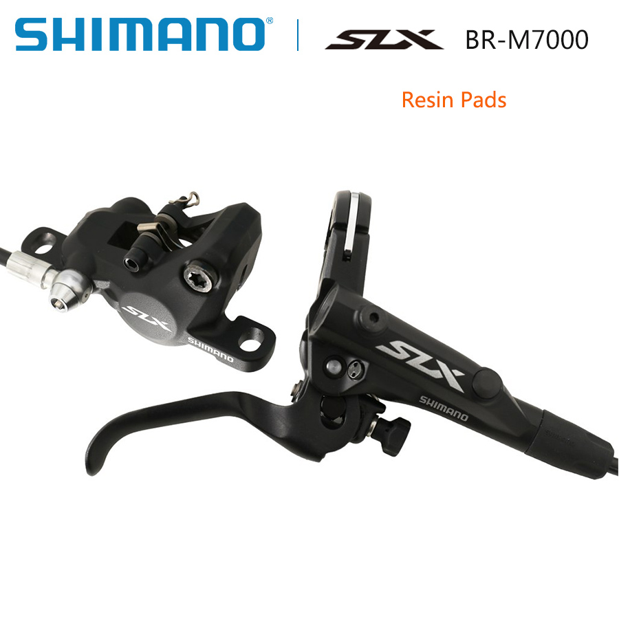 Shimano SLX M7000 Гидравлический Тормозной дисковый тормоз набор ICE Tech передний и задний для горного велосипеда велосипедные запчасти Аксессуары д