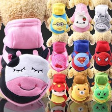 New cute Halloween Dog Costumes pure cotton cartoon bag dog clothes for small dogs medium large coats pet XS-XXL