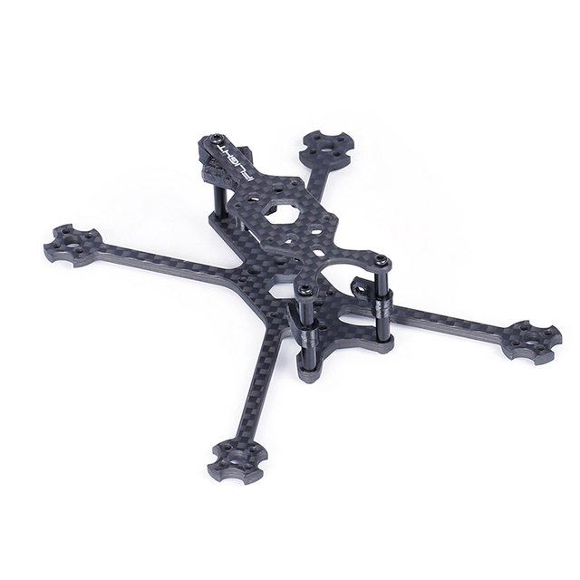 IFlight TurboBee 120RS 120mm, base para ruedas 3mm, tablero inferior, Micro armazón de carreras con visión en primera persona, Kit para Dron Tinywhoop, piezas de cine