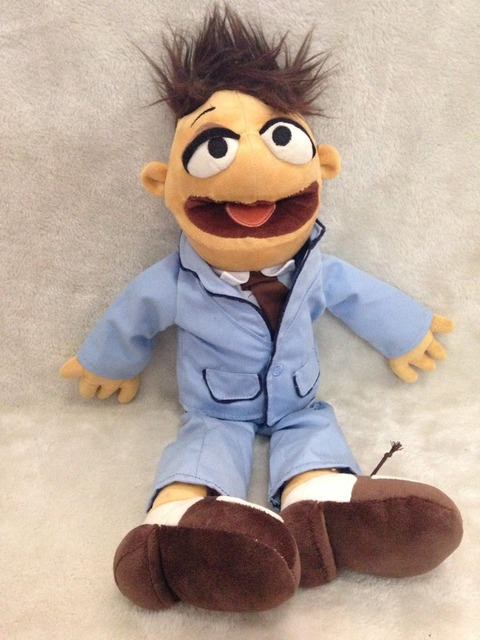 "Rare The Muppets Walter Plush Doll Toy 18"" 46cm Stuffed Soft Kids Toys for Children Gifts"