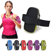 Waterproof Universal Running Phone Bag Sport Arm Band Case For Meizu MX3 MX4 Pro MX5 PRO5 PRO6 M2 M3 Note 2 3 Mini Meilan Metal